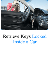 How to open a car with keys locked inside